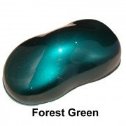 Forest Green Candy Paint